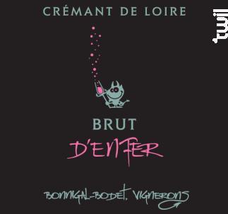 BRUT D'ENFER ROSÉ - Bonnigal et Bodet - Non millésimé - Effervescent