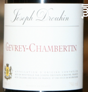 Joseph Drouhin - Maison Joseph Drouhin - 1997 - Rouge
