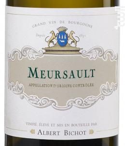 Meursault - Albert Bichot - 2018 - Blanc