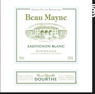Beau Mayne - Dourthe - 2016 - Blanc