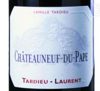 Châteauneuf-du-Pape - Maison Tardieu Laurent - 2012 - Rouge