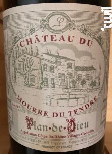 Plan de Dieu - Cuvée Jacques Paumel - Château du Mourre du Tendre - 2017 - Rouge