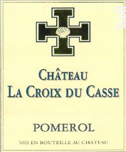 Château la Croix du Casse - Borie Manoux- Château la Croix du Casse - 2016 - Rouge