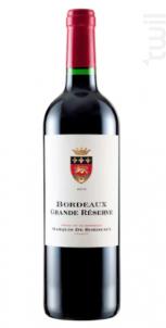 Bordeaux Grande Réserve - Marquis de Bordeaux - 2016 - Rouge