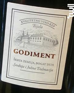Godiment - Domaine Stina Vino - 2016 - Blanc