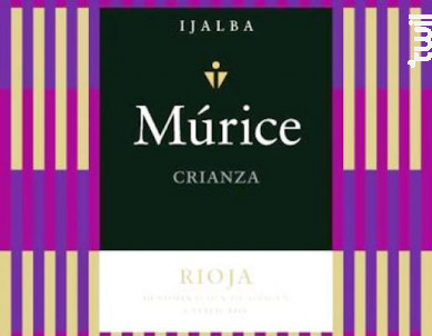 MURICE CRIANZA - Bodega Vina Ijalba - 2013 - Rouge