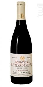 Rouge Raisin - Marc Rougeot Dupin - 2017 - Rouge