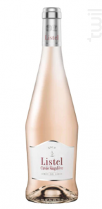 Grains de Gris- Cuvée Singulière - Listel - 2018 - Rosé
