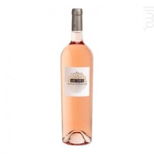Les Arcades - Domaine Fontainebleau en Provence - 2020 - Rosé
