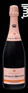 PREMIUM RESERVE Brut PREMIER CRU ROSE - Champagne Charles Mignon - Non millésimé - Effervescent
