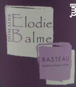 Elodie Balme - Domaine Elodie Balme - 2016 - Rouge