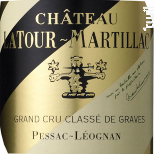 Château Latour-Martillac - Château Latour-Martillac - 2013 - Rouge