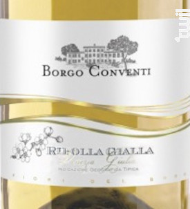 RIBOLLA GIALLA ISONZO - BORGO CONVENTI - Non millésimé - Blanc