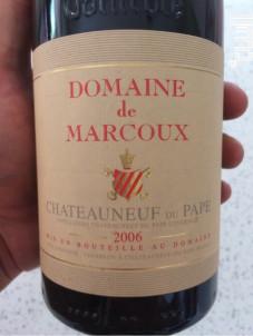 Châteauneuf-du-Pape - Domaine de Marcoux - 2015 - Rouge