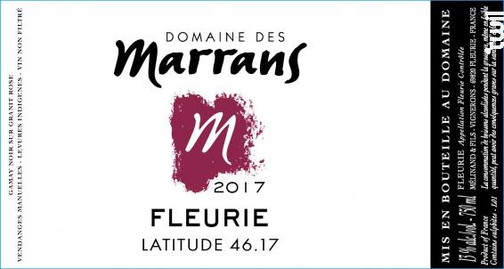 Fleurie - Domaine des Marrans - 2014 - Rouge