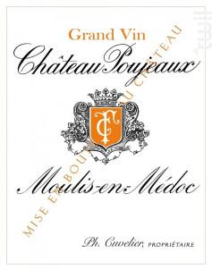 Château Poujeaux - Château Poujeaux - 2010 - Rouge