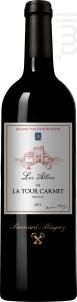Les Allées de la Tour Carnet - Bernard Magrez - Château La Tour Carnet - 2011 - Rouge