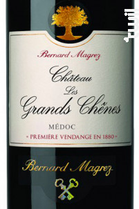 Château les Grands Chênes - Bernard Magrez- Château les Grands Chênes - 2017 - Rouge