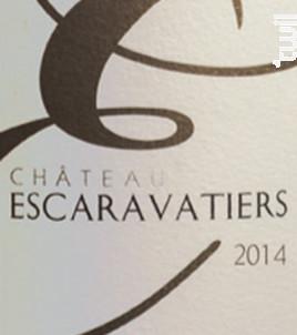Chateau escaravatiers - Domaine des Escaravatiers - 2018 - Rosé