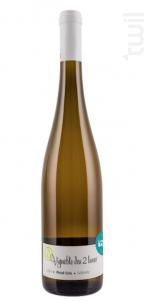 Sélénite Pinot Gris - VIGNOBLE DES 2 LUNES - 2014 - Blanc