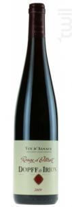 Pinot Noir Ottrott - Dopff & Irion - Chateau de Riquewihr Domaines DOPFF IRION - 2012 - Rouge