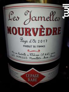 Mourvèdre - LES JAMELLES - 2017 - Rouge
