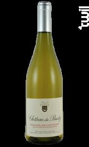 Beaujolais Lantignié Blanc - Château Du Basty - 2018 - Blanc