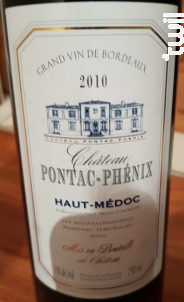 Château Pontac Phénix - Château Pontac-Phénix - 2011 - Rouge