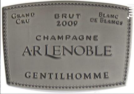 Cuvée Gentilhomme - Champagne AR Lenoble - 2006 - Effervescent