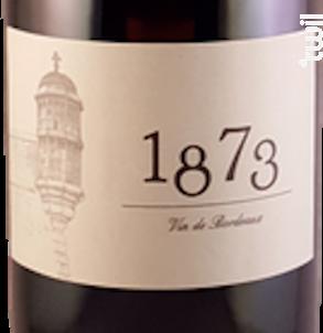 1873 - Château La Botte - 2016 - Rouge