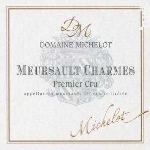 Meursault Premier Cru Les Charmes - Domaine Michelot - 2011 - Blanc