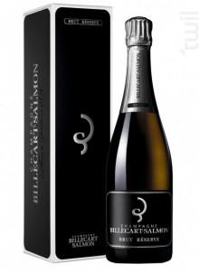 Billecart Salmon Brut Reserve + Etui - Champagne Billecart-Salmon - Non millésimé - Effervescent