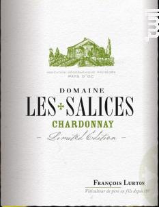 Domaine Les Salices Chardonnay - François Lurton - Domaine Les Salices - 2017 - Blanc
