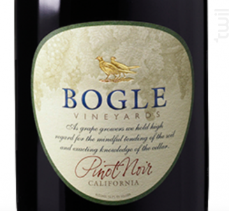 Pinot Noir - Bogle Vineyards - 2014 - Rouge