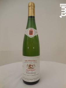 Riesling Rosenberg - Domaine André Stentz - 1992 - Blanc