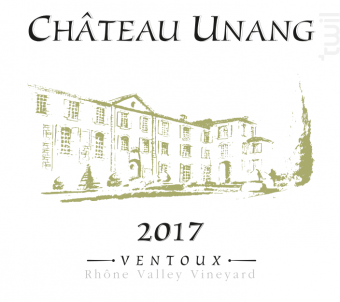 Château Unang - Château Unang - 2017 - Blanc