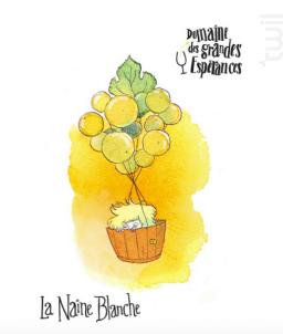 La Naine Blanche - Maison SAGET LA PERRIERE - Domaines des Grandes Espérances - 2015 - Blanc