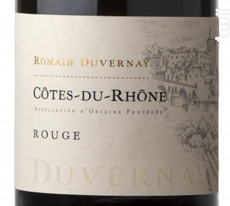 Côtes-du-Rhône Rouge - Romain Duvernay - 2016 - Rouge