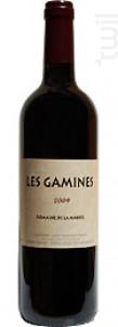 Les Gamines - Domaine de la Marfée - 2015 - Rouge