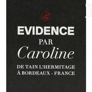 Evidence par Caroline - Château La Lagune - 2011 - Rouge