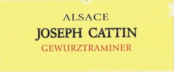 Gewurztraminer - Maison Joseph Cattin - 2017 - Blanc