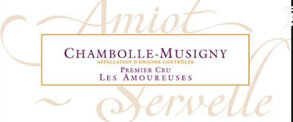 Les Amoureuses Amiot Servelle - Domaine Amiot-Servelle - 2016 - Rouge