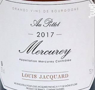 Au Pottet - Louis Jacquard - 2018 - Blanc