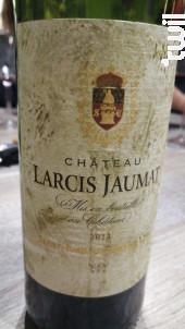 Château Larcis Jaumat - Château Larcis Jaumat - 1989 - Rouge