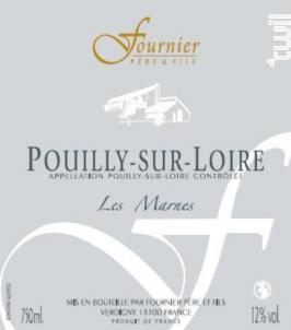 Pouilly-sur-Loire Les Marnes - FOURNIER Père & Fils - 2016 - Blanc
