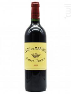 Saint Julien - Clos du Marquis - 2003 - Rouge