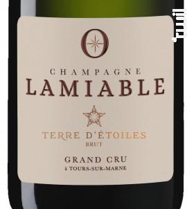 Terre d'étoiles - Champagne Lamiable - Non millésimé - Effervescent