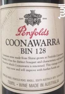 Coonawarra Bin 128 - Penfolds - 2015 - Rouge