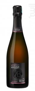 BRUT FRIVOLITE ROSE - Champagne Anthony Betouzet - Non millésimé - Effervescent