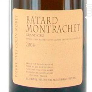 BATARD MONTRACHET - Domaine Pierre-Yves Colin-Morey - 2015 - Blanc